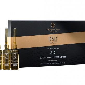 Лосьон от выпадения волос №3.4  Dixidox De Luxe Forte Lotion  10 амп* 10 мл
