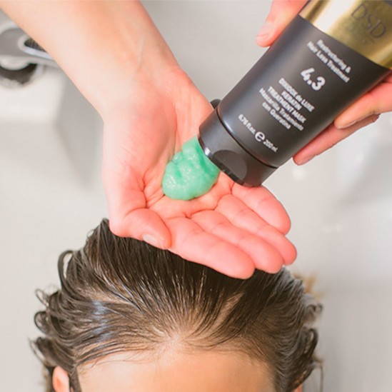 Маска для волос №4.3 Dixidox De Luxe keratin treatment mask, 200 мл
