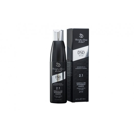 Шампунь от перхоти № 2.1 Dixidox DeLuxe antidandruff shampoo, 200 мл.