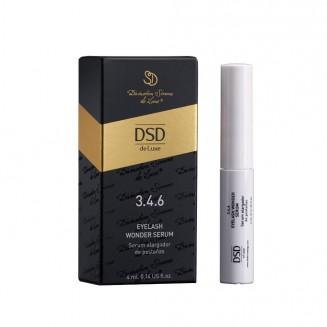 Сыворотка для роста ресниц 3.4.6 Dixidox de Luxe Eyelash Wonder Serum 4 ml